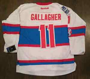 New Reebok (L) Gallagher Montreal NHL 2016 Winter classic Jersey