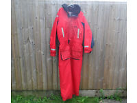 Sundridge Scotchbrite 3M Buoyancy Aid Flotation One Piece Suit Size XL