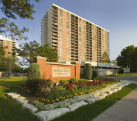Brampton Towers - Beautiful Large One Bedroom Apartments