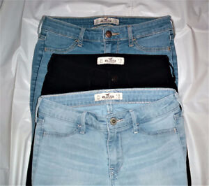 $20 for ALL 3 pairs Hollister jeans OS W 24 L 27