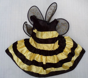 Authentic Kids Bumble Bee Halloween Recital Costume Little Girls