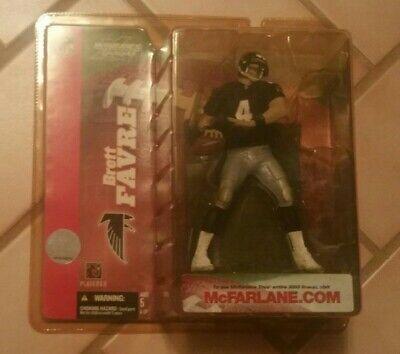 McFarlane NFL 6 Brett Favre Atlanta Falcons Variant Figure Ships 24 hrs Packers Brett Favre Packers Figure