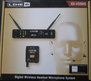 Line 6 Wireless Headset Microphone System XD-V55HS