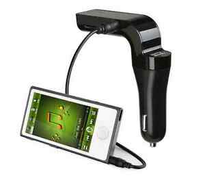 Bluetooth FM Transmitter and MP3 Player,