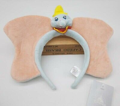 Disney Parks DUMBO Headband Hairband Ears Hat Plush Toy Doll Elephant
