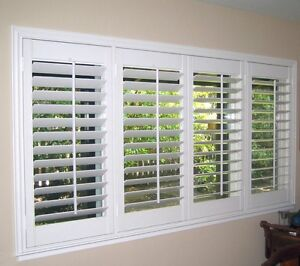 California Window Shutters - Wood and Vinyl