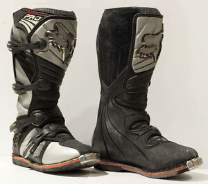 FOX RACING FORMA MOTOCROSS BOOTS SIZE 10 MEN