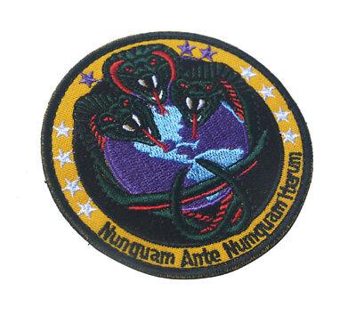 Nunquam Ante Numquam Iterum Nro Army Tactical Morale Badge Embrodiered Patch  01
