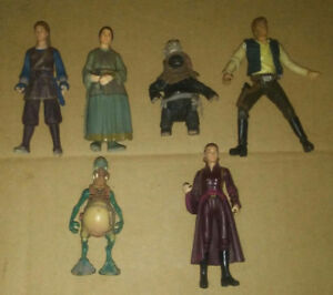 Figurine Star Wars 15$ chacune