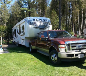 Luxury Fifth Wheel & F350 KING RANCH Diesel Dually