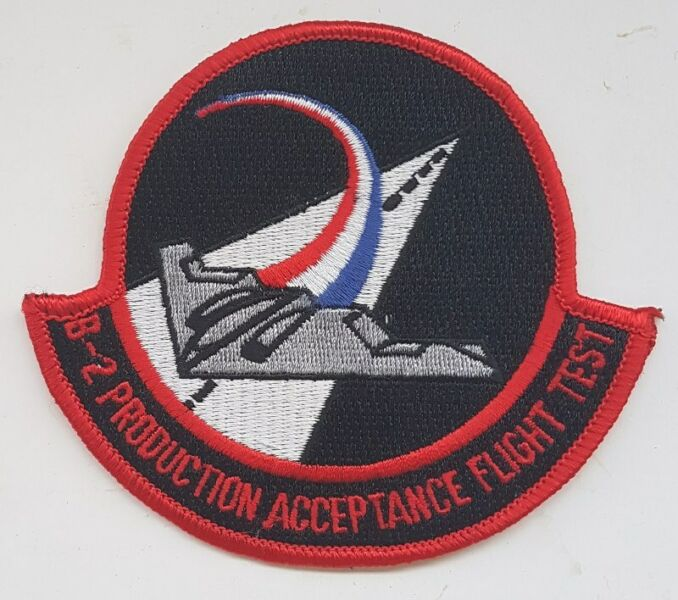B-2 Flight Test, Stealth Fighter, Test Pilot, Hobbyist patches, badges, Collectibles, Memorabilia