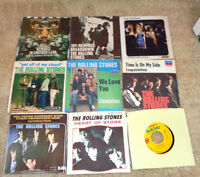 Vintage 45 RPM Vinyl Records Promo's Rolling Stones Satisfaction