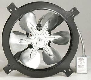 Air Vent 53315 Gable Mount Power Attic Ventilator Fan 1050 CFM up to 1500 sq ft & Gable Mount Attic Fan | eBay