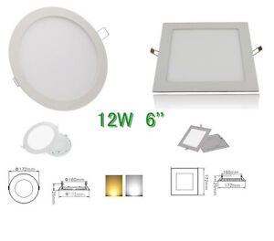 6W/9W/12W/15W/18W Bright CREE LED Recessed Ceiling Panel Down Light Bulb Lamp UK