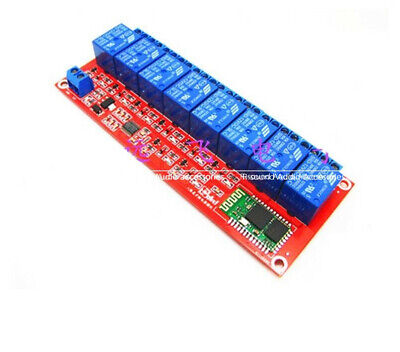 8channel Bluetooth Relay Module 51224v Mobile Phone Remote Control