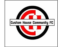 URGENT! FIRST TEAM GOALKEEPER NEEDED CUSTOM HOUSE COMMUNITY FC, NEWHAM, ESSEX, E16