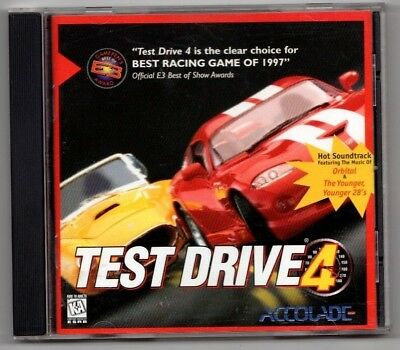 Test Drive 4 (PC, Best racing game of 1997) - Free USA