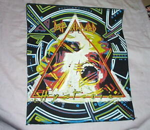 DEF LEPPARD Hysteria... Vintage Back Patch