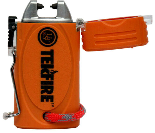 Ultimate Survival TekFire Fuel-Free Lighter, Lithium Ion, Rechargeable 20-02197