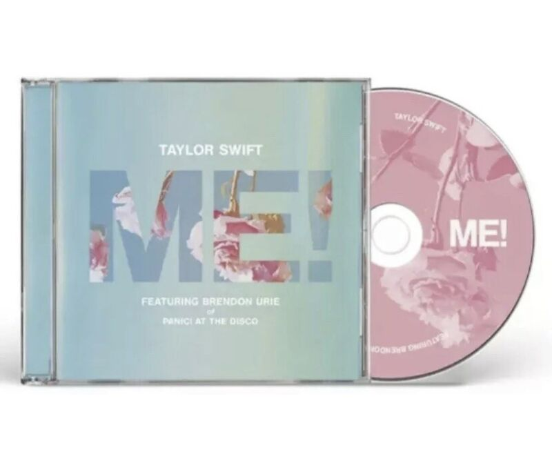TAYLOR SWIFT ME! SINGLE CD BRENDON URIE LIMITED FACTORY SEALED 2019 LOVER NEW