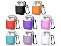 Airpods case variety of colours.