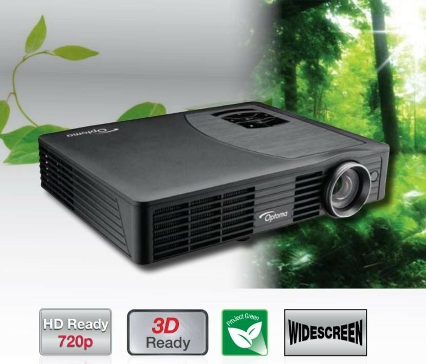 Optoma ML500 LED DLP® Ultra Portable Projector HD 3D Ready