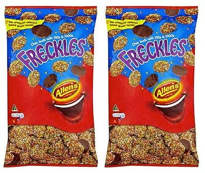 Bulk Lollies 2kg x Allens Freckles Chocolate Candy Buffet Party Favors - Chocolate Candy Buffet