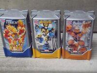 ▲▲▲ Wolverine, Human Torch & The Thing ▲ Marvel ▲ Mega Blocks ▲▲
