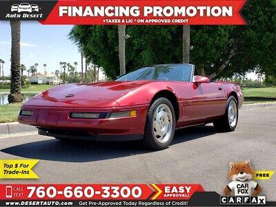 1995 Chevrolet Corvette  Chevrolet Corvette Red with 71,967 Miles, for sale!