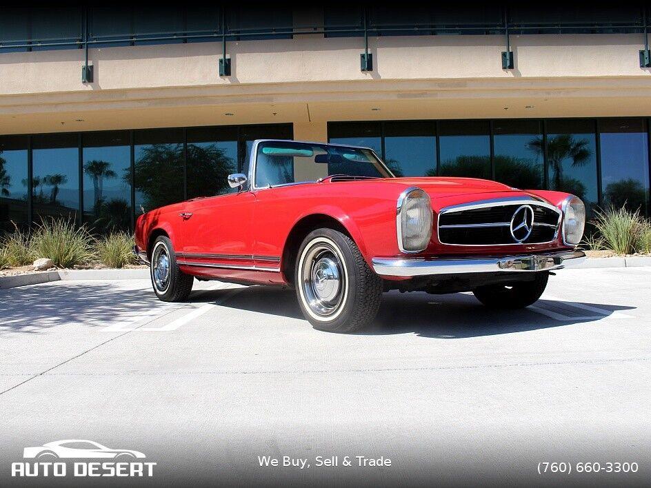 1967 Mercedes-Benz SL-Class  1967 mercedes 230sl roadster