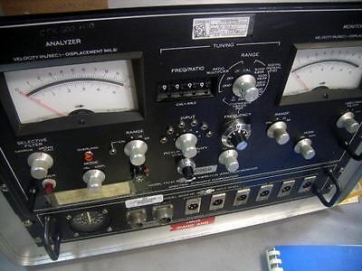 Scientific-atlanta Model 13281-1 Vibration Analyzer Monitor