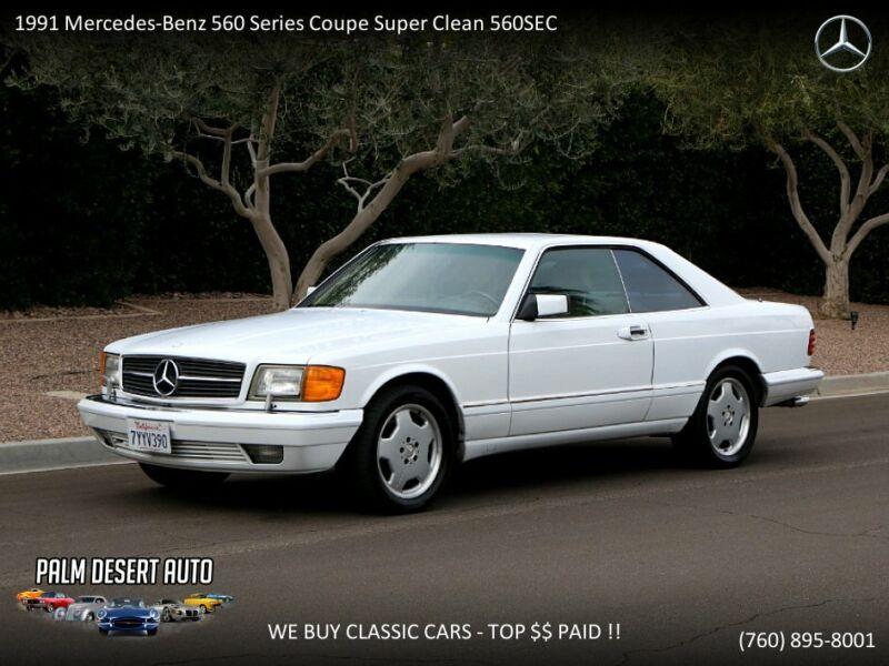 Image 1 Voiture Européenne d'occasion Mercedes-Benz  1991