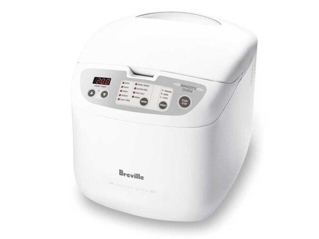 Breville BBM100WHT Baker's Oven Bread Maker