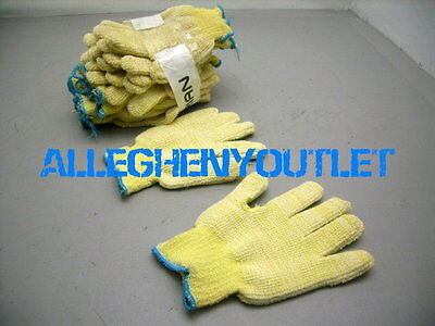 1 Pair North Heavy Duty Kevlar Heat Cut Resistant Terry Cloth Gloves Large Med