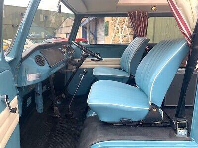 Pair of VW T2 Splitscreen Baywindow T25 T3 Camper Van Cab Seats Reupholstered