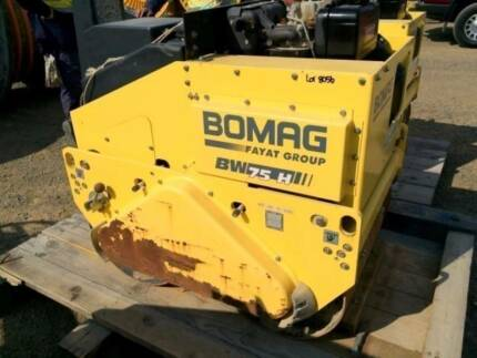 2013 Bomag BW-75-H Walk behind Roller – Tandem Drum Gladstone Gladstone City Preview