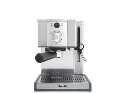 Breville Cafe Roma Stainless Espresso Machine  NEW!