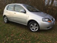 2008 CHEVROLET KALOS - 1.2L - LONG MOT - LOW MILES