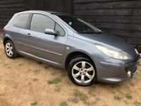2007 PEUGEOT 307 - 1 YEARS MOT - SUPERB EXAMPLE