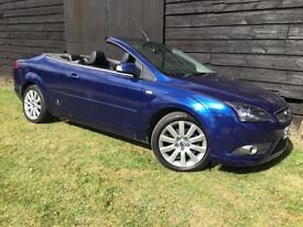 CONVERTIBLE - 2008 DIESEL FORD FOCUS - LEATHER - 6 SPEED - SUPERB
