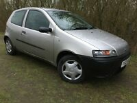 2005 FIAT PUNTO - 1.2L - ONLY 70,000 MILES - SUPERB DRIVE - ECONOMICAL - GREAT FIRST OR CHEAP CAR