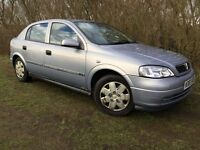 VAUXHALL ASTRA - 1.6L - SUPERB DRIVE - ABSOLUTE BARGAIN