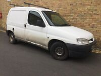DIESEL VAN - 2002 PEUGEOT PARTNER - LONG MOT - RELIABLE