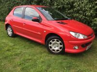 2006 PEUGEOT 206 - 1.1 LITRE - FULL SERVICE HISTORY - LOW INSURANCE COSTS