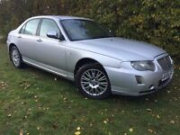 DIESEL - 2005 ROVER 75 CONNOISSEUR - 1 YEARS MOT - BMW ENGINE