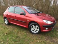 AUTOMATIC PEUGEOT 206 - 1 YEARS MOT - SERVICE HISTORY