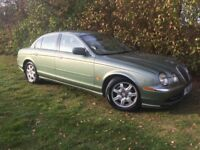 AUTOMATIC JAGUAR S-TYPE - 1 YEARS MOT - LEATHER SUPERB
