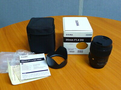 Very Nice!  SIGMA Art 35mm F1.4 DG HSM lens for SONY A,Minolta AF Mount