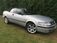 AUTOMATIC SAAB CONVERTIBLE - 1 YEARS MOT - LEATHER