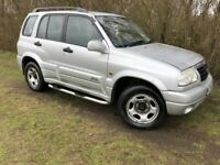 AUTOMATIC 4x4 - GRAND VITARA - SERVICE HISTORY - FOUR WHEEL DRIVE